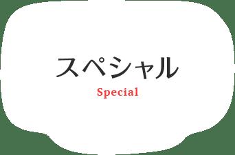 スペシャル SPECIAL